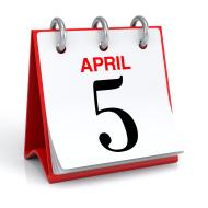 5 April
