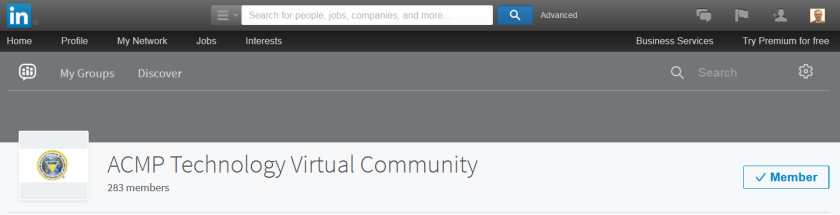ACMP Technology Virtual Community