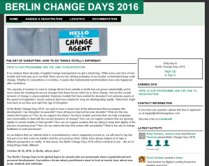 Berlin Change Days 2016