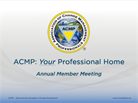 ACMP 2018 Annual Member Meeting